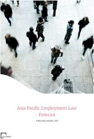 Asia Pacific Employment Law Forecast