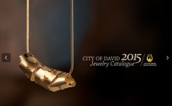 City of David. Jewelry Catalogue 2015.