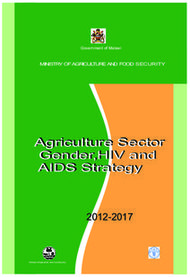 Agriculture Sector Gender,HIV and AIDS Strategy