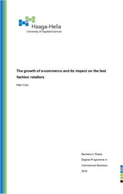 The growth of e-commerce and its impact on the fast fashion retailers