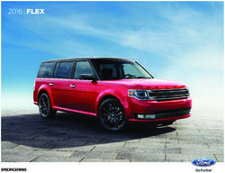 Ford Flex 2016 Specifications