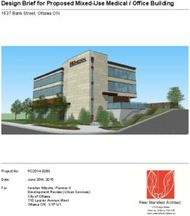 Design Brief for Proposed Mixed-Use Medical / Office Building