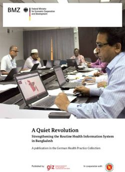 A Quiet Revolution - Strengthening the Routine Health Information System in Bangladesh