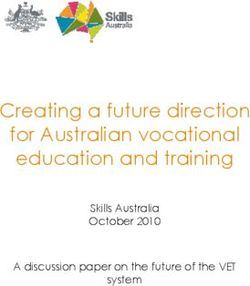 Creating a future direction for Australian vocational education and training