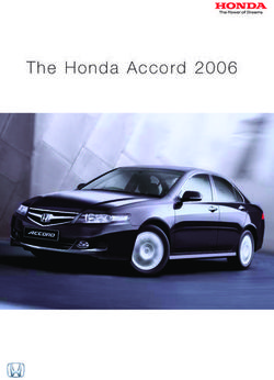 Honda Accord 2006 7th-generation. Brochure.