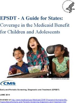 EPSDT - A Guide for States: Coverage in the Medicaid Benefit for Children and Adolescents