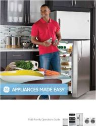 Appliances made easy Multi-Family Operations Guide