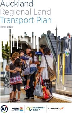 Auckland Regional Land Transport Plan