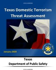 Texas Domestic Terrorism Threat Assessment - Texas Department of Public ...