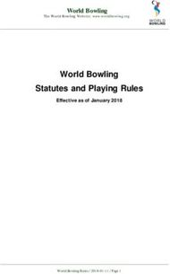 Statutes and Playing Rules