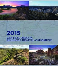 2015 CENTRAL OREGON REGIONAL HEALTH ASSESSMENT - DESCHUTES ...