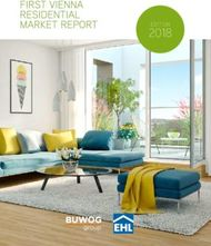 First Vienna Residential Market Report 2018 - EHL-Immobilien