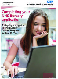 Completing your NHS Bursary application