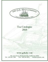 Tea Revives The World. The G.S. Haly Company Tea Catalogue 2015.