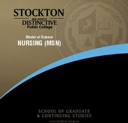 Nursing (msn) - Master of Science