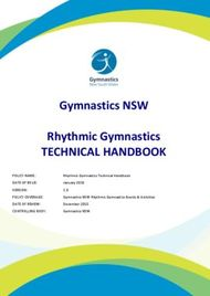TECHNICAL HANDBOOK - Rhythmic Gymnastics