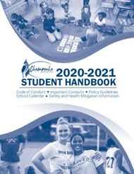 2020-2021 STUDENT HANDBOOK - Code of Conduct Important Contacts Policy ...