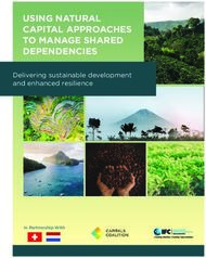 USING NATURAL CAPITAL APPROACHES TO MANAGE SHARED DEPENDENCIES - Delivering ...