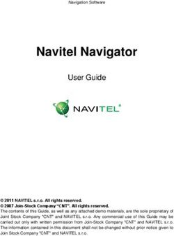 Navitel Navigator User Guide