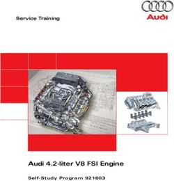 Audi 4.2-liter V8 FSI Engine Service Training