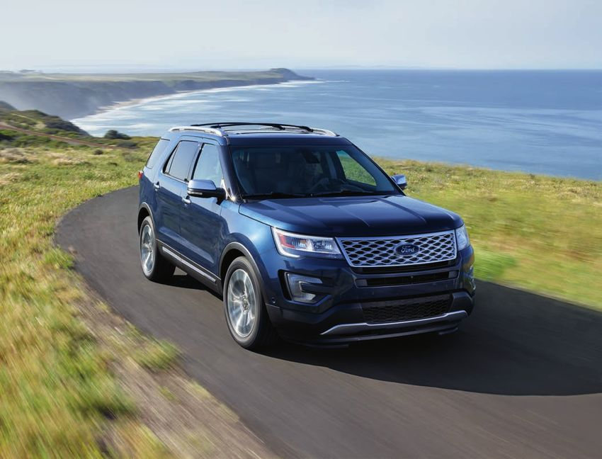 Ford Explorer 2017 Specifications