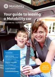 Your guide to leasing a Motability car