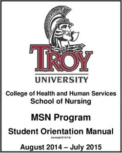 MSN Program - School of Nursing