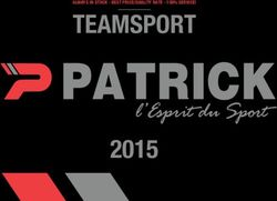 Teamsport P Patrick L'espiration Sport 2015 Catalog