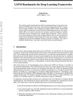 LSTM Benchmarks for Deep Learning Frameworks
