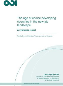 The age of choice:developing countries in the new aid landscape