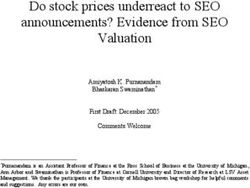 Do stock prices underreact to SEO announcements? Evidence from SEO Valuation