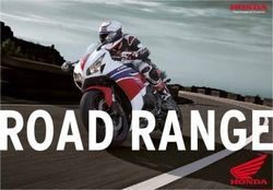 Honda Motorcycles. Road Range Catalog 2014.