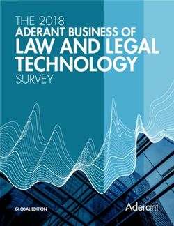 LAW AND LEGAL TECHNOLOGY - THE 2018 ADERANT BUSINESS OF