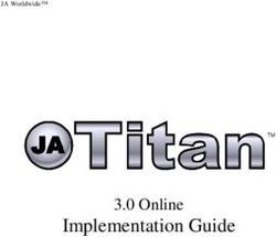 Implementation Guide - 3.0 Online