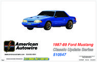1987-89 Ford Mustang Classic Update Series 510547