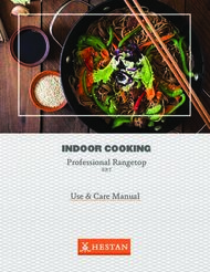 INDOOR COOKING - Professional Rangetop
