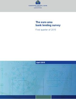 The euro area bank lending survey - First quarter of 2015