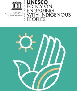 UNESCO - policy on engaging with indigenous peoples