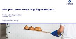 Half year results 2018 - Ongoing momentum