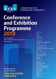 Conference and Exhibition Programme 2019