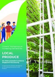 LOCAL PRODUCE Citizens' Workgroup on Increasing Demand for - Six ...