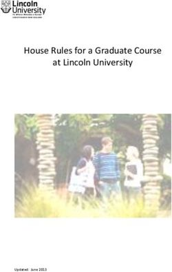 House Rules for a Graduate Course at Lincoln University