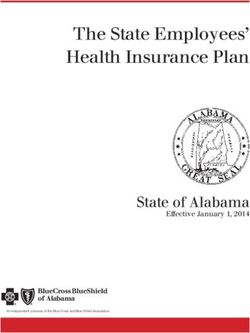 The State Employees' Health Insurance Plan