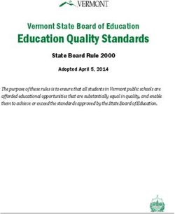 Education Quality Standards - Vermont State Board of Education