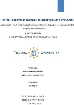 Hostile Takeover in Indonesia: Challenges and Prospects