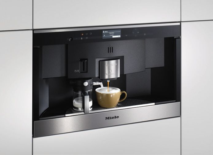 Perfect Coffee at Home. Miele Coffee Machines Catalogue.