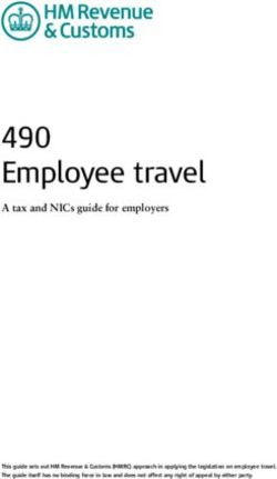 490 Employee travel A tax and NICs guide for employers