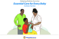Essential Care for Every Baby Helping Babies Survive