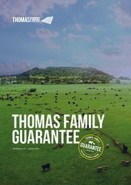 Thomas Family Guarantee