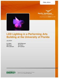 LED Lighting in a Performing Arts Building at the University of Florida